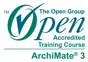 Das ArchiMate® 3 Training von The Unit Company ist von The Open Group akkreditiert.