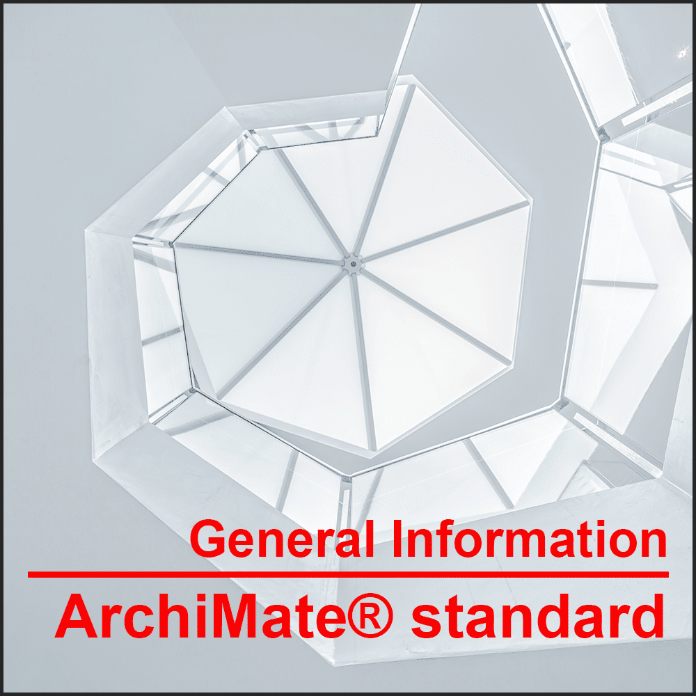 General information about the ArchiMate® Standard The international graphic language for modeling enterprise architectures.