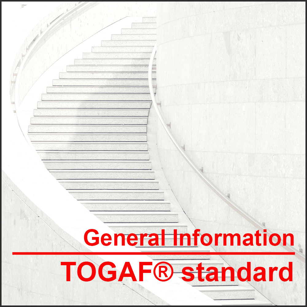 General information TOGAF® framework Learn more about the TOGAF® standard, version 9.2, the training and your route to certification
