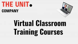 Virtual classroom course The Unit